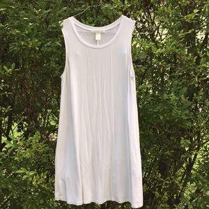 Simplistic white dress